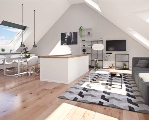 VERKAUFT! Herrliche Dachgeschoss-Maisonette-Wohnung in Bestlage München - Glockenbachviertel