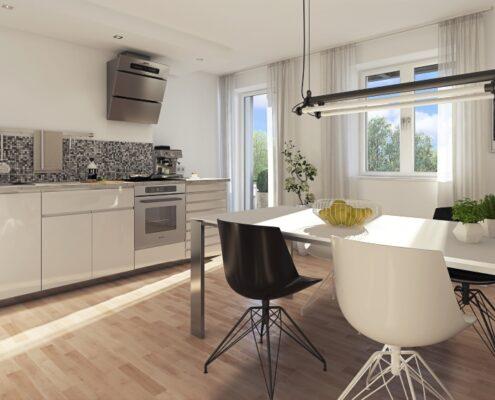 Bestlage in München – Glockenbachviertel!  Generalsanierte 2-Zimmer-Wohnung mit Balkon im 4.OG