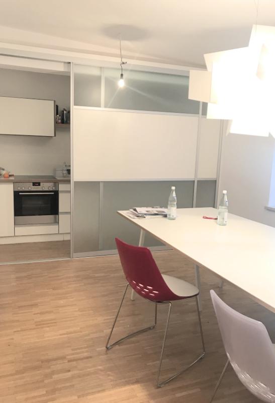 Büro mit Küche