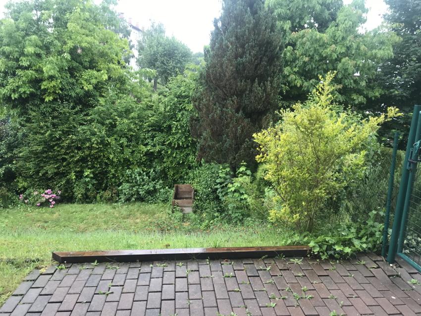 Garten an der Küche