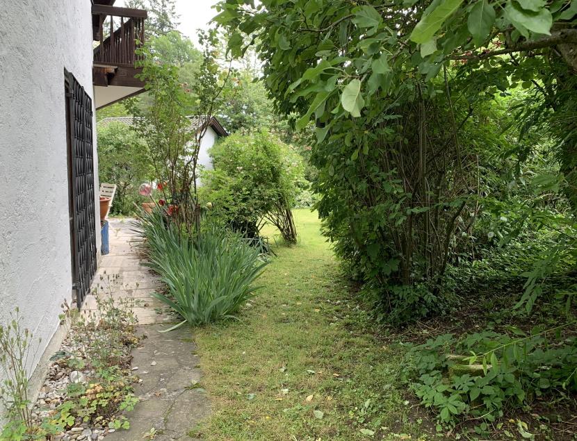 Garten vor der Küche