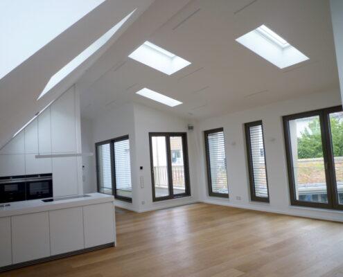 VERMIETET! Neubau! Bestlage Nähe Gärtnerplatz: Luxus 3-Zimmer-Dachterrassen-Loft