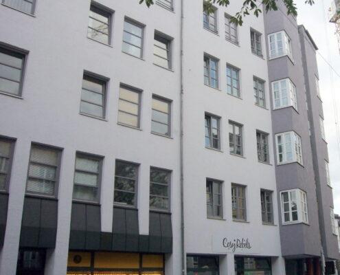 Helle 1-Zimmer-Wohnung mit Balkon in München im Glockenbachviertel